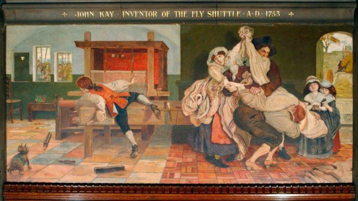 産業革命の幕開け-ジョン・ケイが発明した「飛び杼」