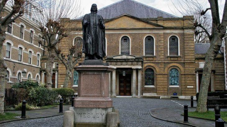 英国国教会から分離独立したメソジスト派の起源を知る