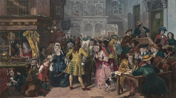 「南海泡沫事件」18世紀に起きたバブル崩壊