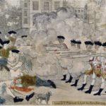 18世紀イギリス領アメリカのボストンで、兵士が大衆に発砲した事件
