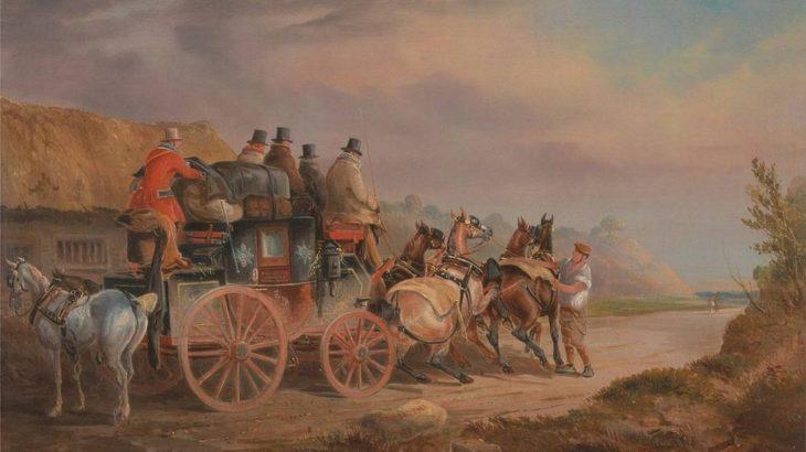 18世紀~19世紀の馬車のスピード