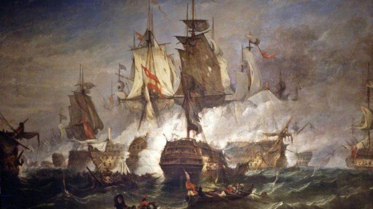 ネルソン代将「サンビセンテ岬の戦い」を勝利に導く-フランス革命戦争