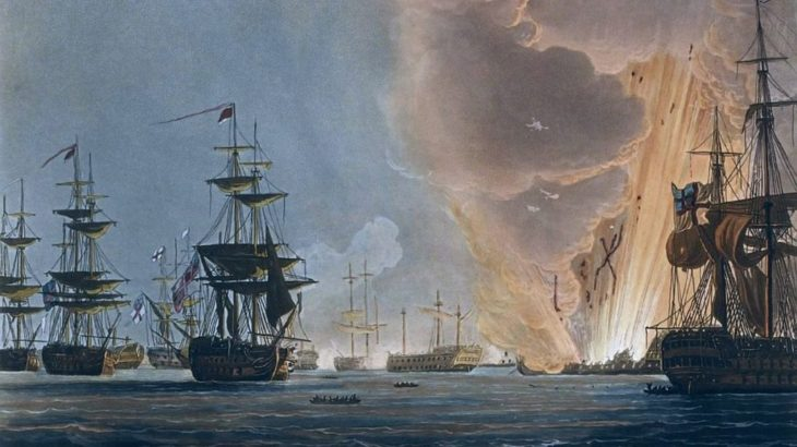 「ナイルの海戦」ナポレオンの計画をくじく要(かなめ)-フランス革命戦争