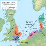 ローマ撤退後のブリテン島(3)アングロ-サクソン人の侵入と定着