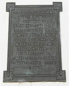 Eleanor Cross Plaque.